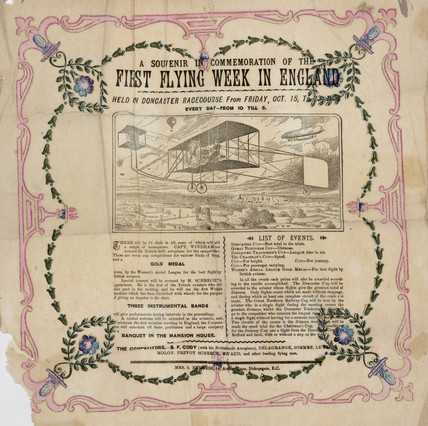 'First Flying Week in England', Doncaster, 1909.