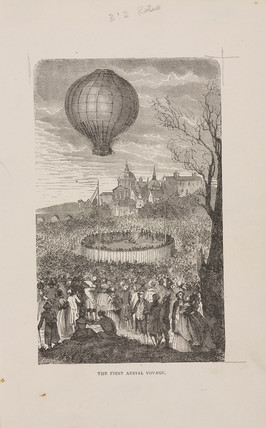 'The First aerial Voyage', 21 November 1783.