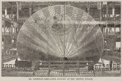 'Mr Coxwell's High-Level Balloon at the Crystal Palace', 1868.