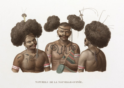 'Natives of New Guinea', 1822-1825.