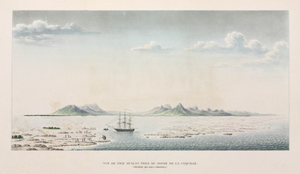 Oualan island in the Caroline Islands archipelago, Micronesia, 1822-1825.