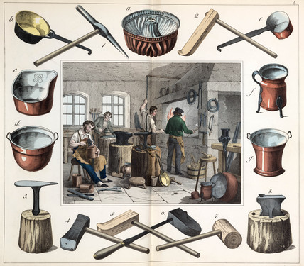 The coppersmith, 1849.