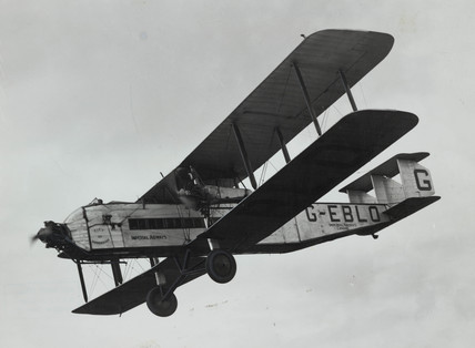 Argosy G-EBLO 'City of Birmingham', late 1920s.