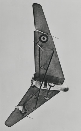 Hill Pterodactyl tailles aeroplane, 1925.