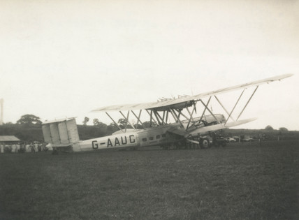 HP42 G-AAUC 'Horsa' on the Cape to Cairo service, 21 December 1932.