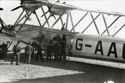 An HP42 loading on the African route, 1930s.