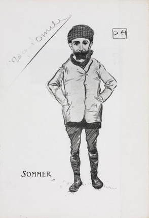 Roger Sommer, early aviator, 1909.