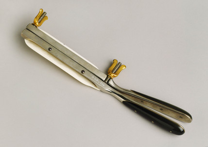 Baker-Brown's cautery clamps, French, 1841-1900.