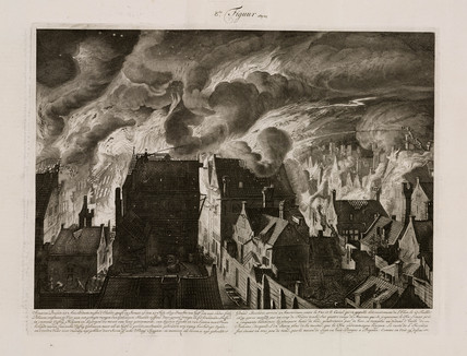 A large fire, Amsterdam, Holland, 27 July 1679.