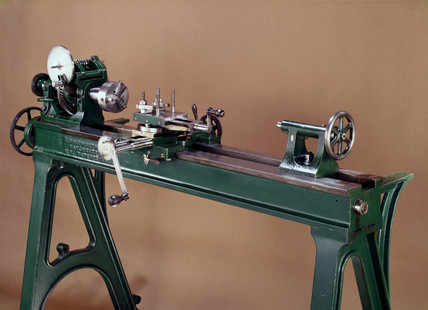 Whitworth lathe, made in Manchester, 1833-1950.