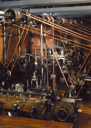 20th century model of 19th century workshop.