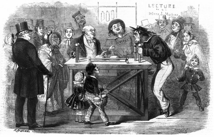 Christmas at the Polytechnic, 1858.