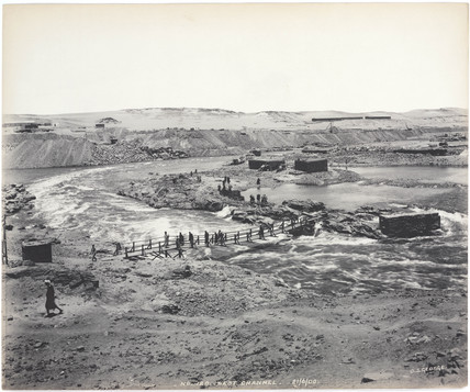 'West channel', Aswan, Egypt, June 1900.