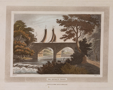 'The Aqueduct Bridge', Scotland, 1801.