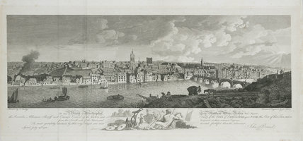 'View of Newcastle-upon-Tyne', 1783.
