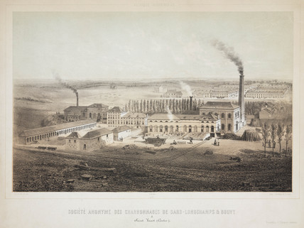 Sars-Longchamps & Bouvy Coalmining Co Ltd, Belgium, 1830-1860.