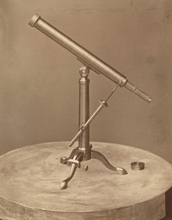 Refracting telescope by M Herbst, St Petersburg, Rusia, 1876.