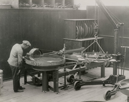 Construction of a 41 inch equatorial refracting telescope, 1928.