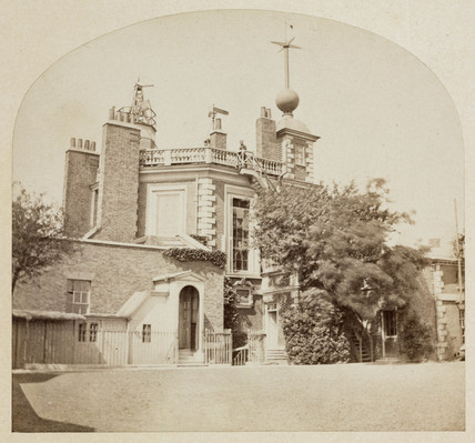 The Royal Observatory, Greenwich, London, mid 19th century.