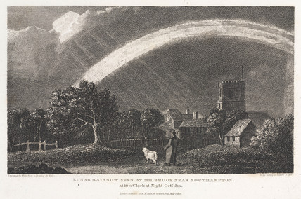Lunar rainbow at 10 pm, Milbrook, near Southampton, October 1810.