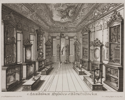 'Mathematical cupboard for physics', Augsburg, Germany, 1750-1800.