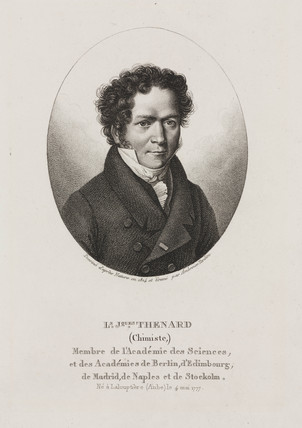 Louis Jacques Thenard, French chemist, 1824.