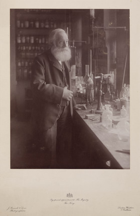 Sir William Henry Perkin, English chemist, late 19th century.