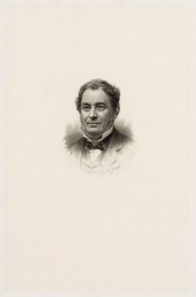 Robert Bunsen, German chemist, c 1840-1870.