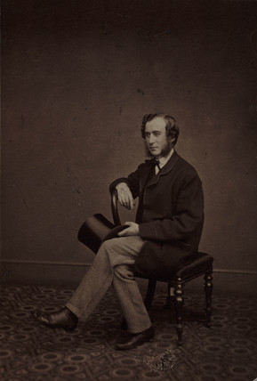 William Archer, British naturalist and librarian, c 1850-1880.