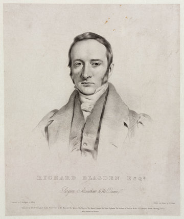 Richard Blagden, British surgeon, c 1842.