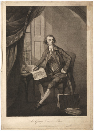 Sir George Savile, English Whig politician, 1770.