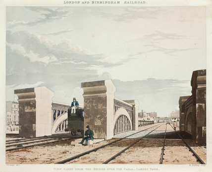 Waterford Viaduct on the London & Birmingham Railway, 19th century.