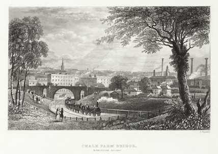'Chalk Farm Bridge - Birmingham Railway', 19th century.