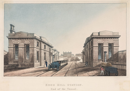 'New station, Lime Street', Liverpool, 1836.
