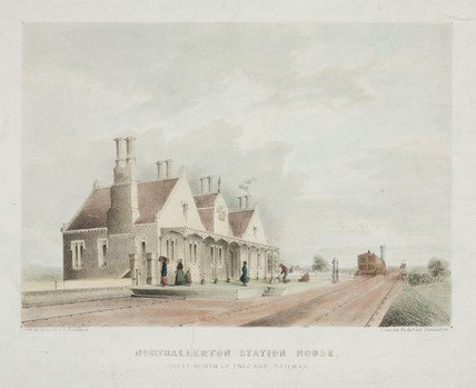 Northallerton Station House, North Yorkshire, 1841.