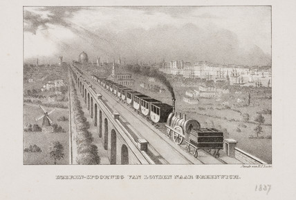 The London & Greenwich Railway, 19th century.