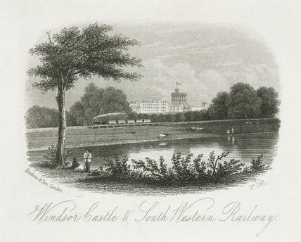 'Windsor Castle and South Western Railway', 19th century.