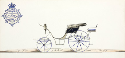 Carriage, 19th century