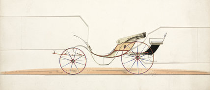 Carriage, 19th century.