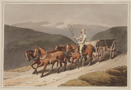 'East Riding or Wolds Waggon', 1814.