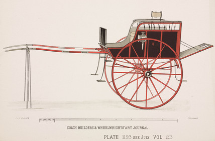 Trap or cart, c 1903.