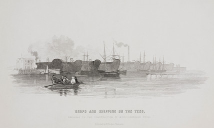 'Drops and shipping on the Tees', 1844.
