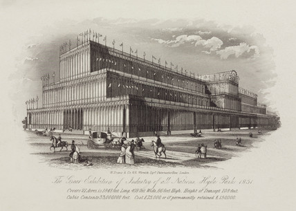 'The Great Exhibition of Industry of all nations', 1851.