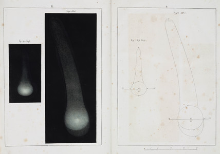 Halley's comet, September and October 1835.