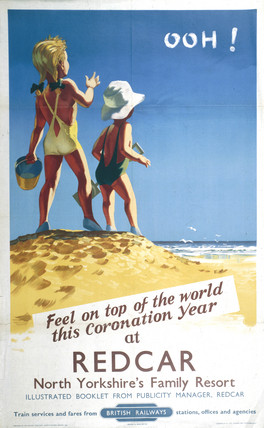 'Feel on Top of the World', BR poster, 1953.