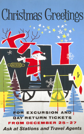 'Christmas Greetings', BR poster, 1960.