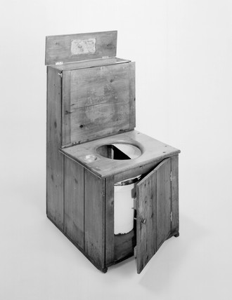 Rev. Henry Moule's earth closet, c.1875.