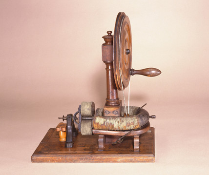 Clarke's magneto-electric machine, 19th century.