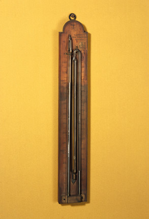 Six maximum and minimum thermometer, 19th