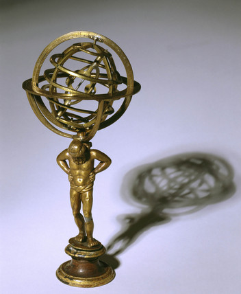 Small armillary sphere, 17th century.